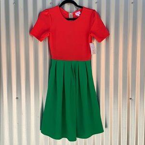NWT Lularoe Fruit Punch Amelia Day Dress XS